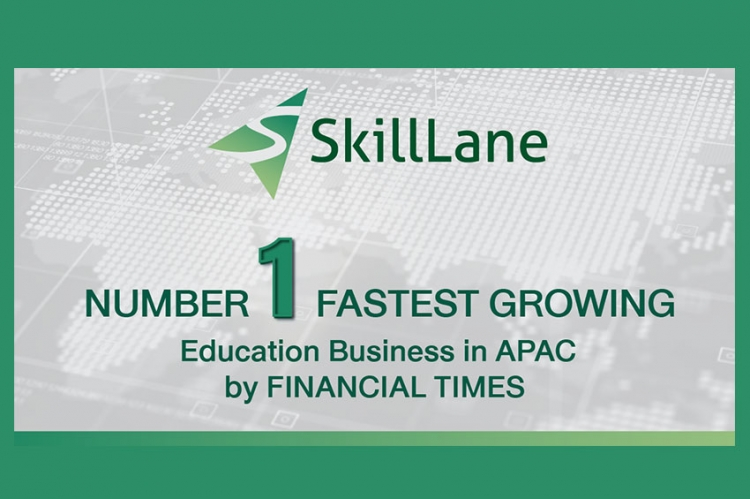 SkillLane แตะองค์กรธุรกิจการศึกษาเติบโตสูง จากการจัดอันดับของ Financial Times ประจำปี 2021