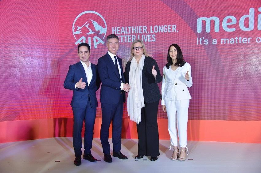 เอไอเอ ประเทศไทย ร่วมมือกับ เมดิกซ์ (Medix) นำเสนอบริการจัดการดูแลผู้ป่วยรายบุคคล