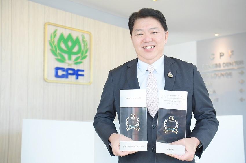 ซีพีเอฟ คว้า 4 รางวัล องค์กรดีเด่น และรางวัล CFO ยอดเยี่ยมของไทย