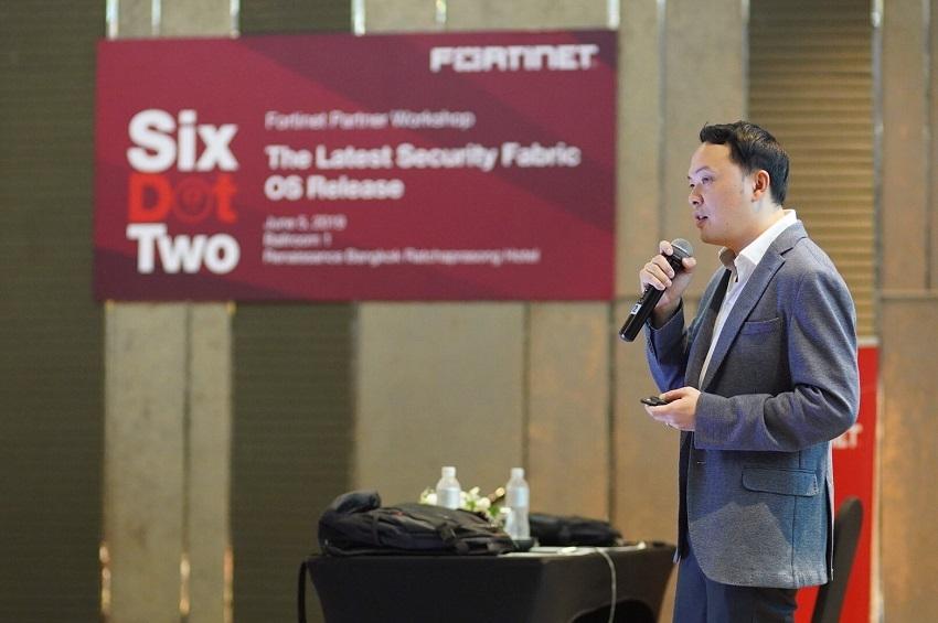 ฟอร์ติเน็ตชู FortiOS 6.2 โอเอสเพื่อระบบความปลอดภัยเครือข่ายเวอร์ชั่นใหม่ ในงานสัมมนาพันธมิตร