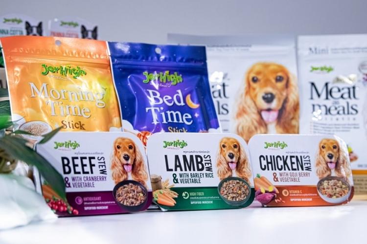 Jerhigh ตอกย้ำผู้นำอันดับ 1 เปิดตัว 'Bed Time & Morning Time' ขนมสุนัขกลิ่นเทอร์ปีน สารสกัดจากกัญชง รายแรกในเอเชีย