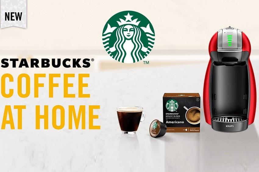 ดื่มกาแฟสดจากสตาร์บัคส์ที่บ้านได้แล้ววันนี้!