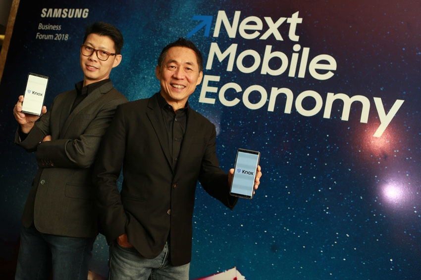 """""""ซัมซุง"""" ยกระดับธุรกิจไทยสู่ Next Mobile Economy ชูความปลอดภัยสูงสุดด้วย Samsung Knox บนอุปกรณ์ที่หลากหลาย"""