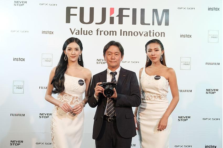 """ฟูจิฟิล์มเขย่าวงการประกาศจุดยืน ตอกย้ำสร้าง Branding เปิดตัว Global Campaign """"NEVER STOP"""""""
