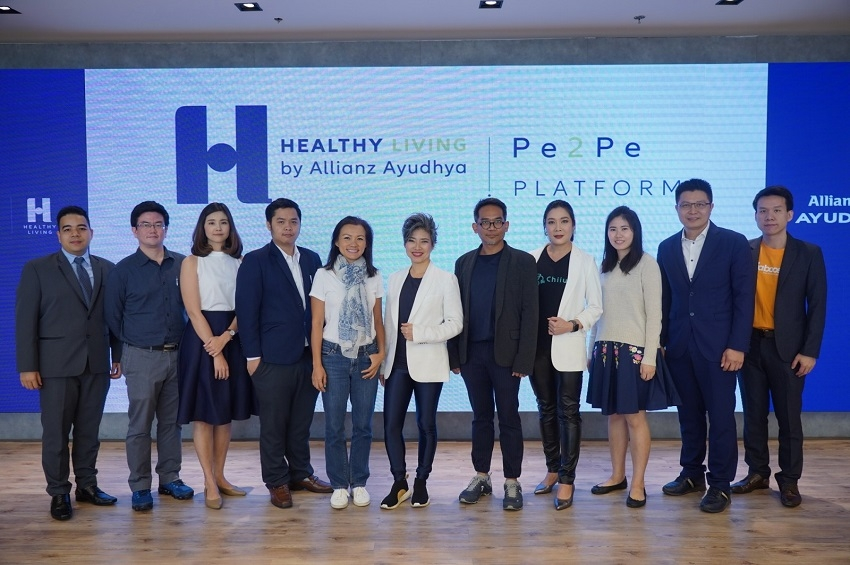 อลิอันซ์ อยุธยา เดินหน้าต่อยอด Healthy Living ยกระดับสังคมออนไลน์ด้านสุขภาพและไลฟ์สไตล์ในไทยผ่าน Pe2Pe Platform