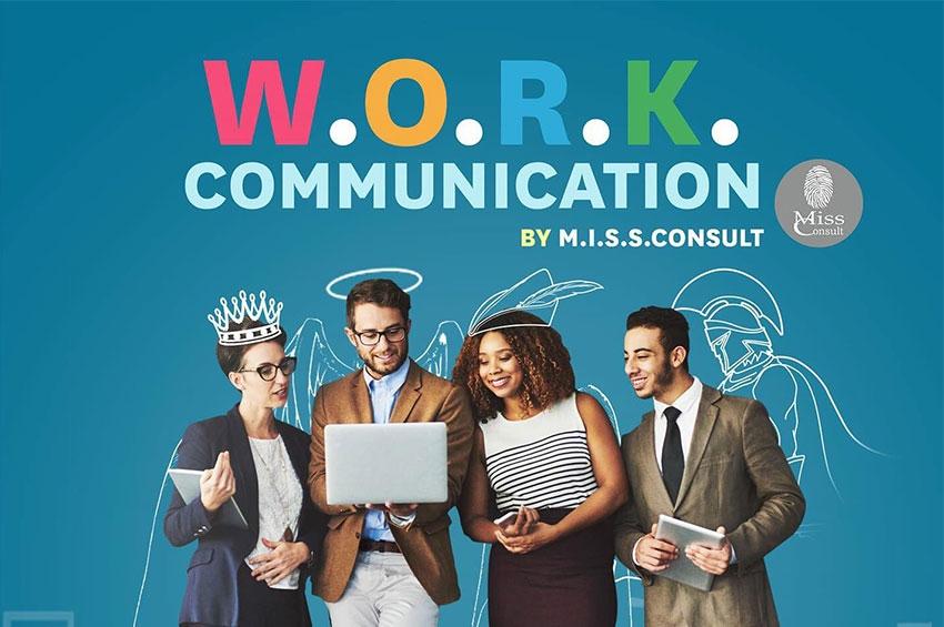 โปรแกรมการอบรม W.O.R.K. COMMUNICATION 1 วัน