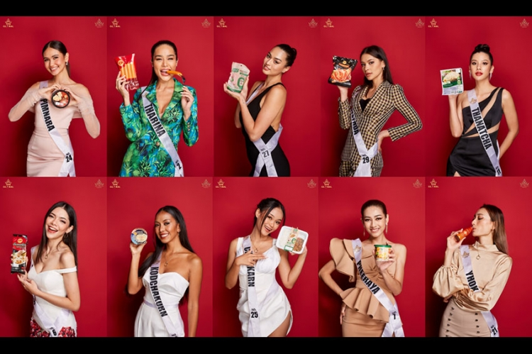 ซีพีเอฟ มอบอาหารดีจากใจสู่จาน  เติมเต็มกำลังกาย-กำลังใจ สาวงามเวที Miss Universe Thailand 2021