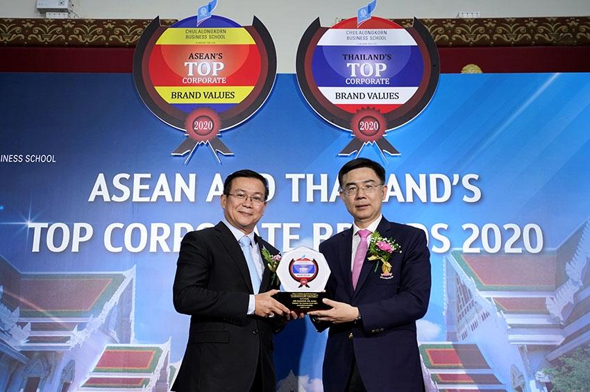 ทิพยประกันภัย คว้ารางวัลเกียรติยศ ASEAN and Thailand's Top Corporate Brand 2020