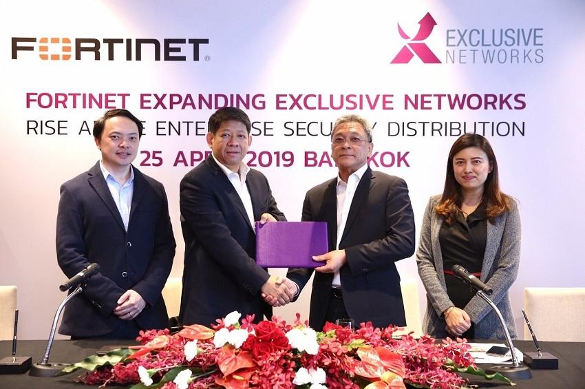 ฟอร์ติเน็ตแต่งตั้งเอ็กซ์คลูซีฟ เน็ทเวอร์คส์เป็นดิสทริบิวเตอร์ VAD ในประเทศไทย